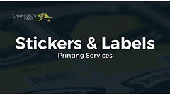 Stickers and Labels - Chameleon Print Group (Chameleon Print Group) Tags: printing businesscards promotionalproducts printingservices labelprinting stickerprinting stickers labels signprinting graphicdesignservices labelprintingservices stickerprintingservices print printers