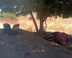 018 A Homeless Encampment Control (saschmitz_earthlink_net) Tags: 2016 california encino lakebalboa orienteering laoc losangelesorienteeringclub losangeles losangelescounty lakebalboaanthonycbeilensonpark