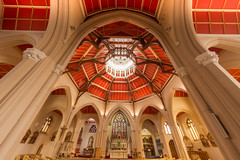 Sacred Hear Catholic Church, Blackpool, Lancashire, UK (2) (Nick Bowman1) Tags: sacredheartchurch sacredheartcatholicchurch uk sonyf2816mmfisheye lancashire sonya99 blackpool england unitedkingdom gb