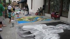 Hyde Park Sidewalk Art Festival 2013
