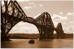 The Forth Rail Bridge (eric robb niven) Tags: landscape cycling scotland edinburgh firthofforth top20bridges mygearandme canong12 ericrobbniven