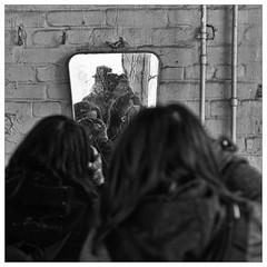 """selfs"" (2013_05205) (Thierry Lubin (www.meinstream-fotografie.de )) Tags: portrait blackandwhite bw self spiegel sw shooting schwarzweiss brandenburg selbstportrait thierry drei quadrat lubin 3570mm teupitz marode fotografen marodes thierrylubin landesanstalt landesirrenanstalt meinstream meinstreamfotografie"