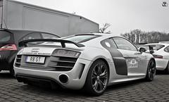 Audi R8 GT (Gemaskerde Muchacho) Tags: auto red cars ariel car race mercedes automobile europe nissan martin 911 continental 360 ferrari renault mclaren porsche enzo bmw alfa romeo dodge rolls