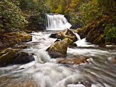 Yellow Creek Falls (Bradley Nash Burgess) Tags: longexposure water yellow creek lumix waterfall nc northcarolina panasonic slowshutter waterblur panasoniclumix robbinsville yellowcreek robbinsvillenc yellowcreekfalls gf2 panasoniclumixgf2 southeastwaterfall