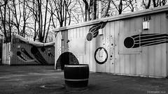 playground closed (KLAVIeNERI) Tags: bw playground photographer streetshots dusseldorf bilk lfi bwconverted leicaforum stevehuff leicax1 leicaimages lightroom4 ilovemyleica photographersontumblr