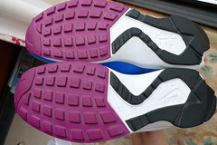 Wmns Nike Huarache Light 'Blue Crystal / Red Plum' ('93). (gooey_wooey) Tags: light vintage sneakers trainers nike og kicks sole huarache nikeair outsole bluecrystal redplum huarachelight