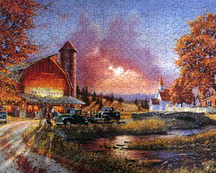 """Dinner at the Barn"" (Puzzler4879) Tags: puzzles pointshoot puzzling canonpowershot jigsaws canondigital canonaseries canonphotography jigsawpuzzles canonpointshoot mycameraneverlies flickrbronzeaward heartawards a590is canona590is mygearandme mygearandmepremium mygearandmebronze mygearandmesilver photographyforrecreation jigsawpuzzling level1autofocus redlevelno1 davidbarnhouse artistdavidbarnhouse ruralamericanart"