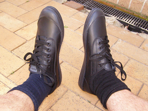 leather shoes dunlop volleys plumsoles