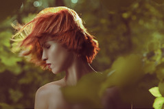 (Csheemoney) Tags: red portrait girl forrest redhead belgrade redhair retouch retouching beograd csheezio cshee csheemoney nemanjapesic