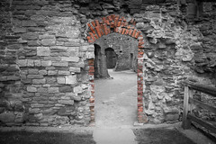 "Raglan Castle • <a style=""font-size:0.8em;"" href=""http://www.flickr.com/photos/32236014@N07/8652848665/"" target=""_blank"">View on Flickr</a>"