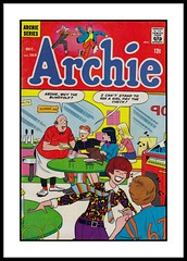"""Archie #169, 1966 (Cosmo's """"ART"""" Gallery) Tags: 1966 betty veronica cover comicbook archie reggie"""
