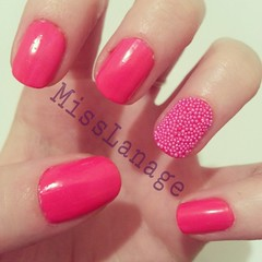 Models Own: Ice Neon & Nail Beads (MissLanage) Tags: nailart manicures neonnails modelsown nailbeads flickrandroidapp:filter=none caviarnails iceneon