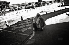 waiting : arrival at Aéroport Marseille Provence (Le Xuan-Cung) Tags: autumn urban blackandwhite bw sun sunlight man fall hat daylight marseille lightsandshadows waiting thought mood alone afternoon noiretblanc citylife streetshots streetphotography atmosphere streetlife streetscene nb sw arrival drama bigcity sunnyday urbanshots livinginfrance lightsanddarks characterstudies aéroportmarseilleprovence urbanmarseille livinginprovencealppescôted´azur livinginmarseille livingincôted´azur