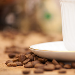 Cofee Close-up (cemagraphics) Tags: morning food brown white black hot cup coffee turkey dark java cafe energy raw candle shot natural drink antique background space small beverage seed plate bean fresh arabic gourmet single heat mug brazilian tradition caffeine coffe liquid isolated turkish handful cofe grained
