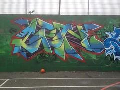 ZenerNoggsy (.ZenerOner.HTB.SFM.) Tags: green liverpool graffiti norris zener zeneroner