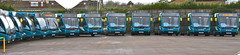 The impressive line-up of 13 new Optare Versas for Arriva Southend for the official launch event (EastBeach68) Tags: one kent thameside optare optareversa arrivasoutherncounties arrivakentthameside arrivasouthend 2013optareversa newoptareversa arrivasouthendbus newsouthendoptares southendversaslaunch newarrivabuses optareversav1170 newsouthendversas route1versas arriva2013optareversas newsouthendversa newsouthendoptareversa southendversalaunch optareversav1170v1170arriva