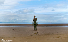 Another Place - Liverpool - March 2012 - 4 L (Li888) Tags: beach statues anotherplace crosbybeach anothonygormley