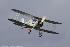 Shuttleworth Collection Training Week 2013_1902 (shuttleworthpix) Tags: flying fighter aviation airshow ww2 april warbird raf biplane gladiator 1937 aerodrome gloster robbo airdisplay royalairforce shuttleworthcollection oldwarden 2013 trainingweek robleigh gamrk k7985 chrishuckstep