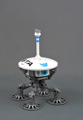 Dust Lander (Sirius Trade Authority) (halfbeak) Tags: lego sirius sciencefiction sta lander microspace siriantradeauthority dustlander