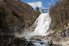 Cascata di Crosis (drakkar6163) Tags: panorama water waterfall venezia giulia friuli cascata crosis