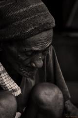 Unseen (Triple_B_Photography) Tags: poverty old bali man hat blackwhite homeless poor elderly age sorrow bapak sukawati elementsorganizer