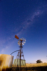 Aussie windpump in the moonlight (Indigo Skies Photography) Tags: lighting camera longexposure light sky moon colour water night digital rural lens stars photography aperture nikon exposure flickr image farm country picture australia victoria iso pump nighttime galaxy moonlight colourful capture universe watertank heathcote highiso paddock milkyway windpump cornella mountcamel colbinabbin tokina1116mmf28 nikond7000 raychristy heathcoterochesterroad