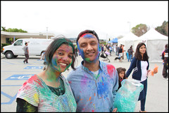 Kamna and Ashish (bandarji) Tags: colors colorful indian holi fostercity