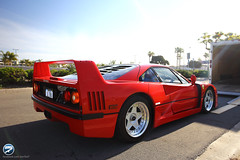 Good morning Ferrari F40 (I am Ted7) Tags: california canon eos sandiego ferrari april f40 6d bellaitalia ted7 2013 iamted7