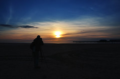 Sunset In Lytham St.Andrews (rayraysewell) Tags: landscapes nikon sunsets lytham d7000 colourfullandscapes