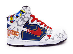 Sekure D x Cosentino Dunk Higheral (Sekure D) Tags: magic nike custom dunk cosentino sekured