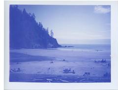 Short Sands (mattpensworth) Tags: oregon polaroid coast landcamera shortsands blue100