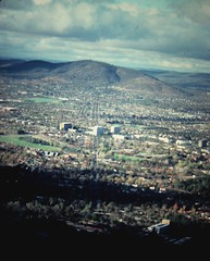 Canberra (1980) (Arthur Chapman) Tags: australia canberra blackmountain act australiancapitalterritory geo:country=australia geocode:method=googleearth geocode:accuracy=100meters