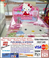 BED SORONG 2IN1 120X200 HELLO KITTY 04 (PURI KEA PANEL FURNITURE) Tags: 2 baby table video panel desk furniture hellokitty interior dressing study locker semarang kea audio rak puri pintu tolet serba guna dapur kitchenset lemari ben10 mebel mejabelajar mejakomputer lemaripakaian mejarias mejatamu lemarianak lemarisepatu lemarihias purifurniture companel mejasofa mejatulis lemariraktv lemaripakaian3pintu starpanel