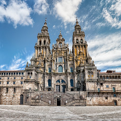 Cathedral  Catedral de Santiago de Compostela, Galicia (Spain) (marcp_dmoz) Tags: panorama espaa church architecture way 50mm spain arquitectura nikon catholic view camino cathedral roman kathedrale catedral iglesia kirche route galicia santiagodecompostela vista handheld architektur aussicht nikkor pilgrimage jakobsweg spanien peregrinacion apostol katholisch catolico saintjames apostle apostel galicien jakobus sanriago d700 pilgerung