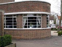 Deco Nag's Head 21 (FrMark) Tags: uk windows england art architecture bar corner restaurant town thirties pub inn britain style moderne gb suburb curved deco hertfordshire streamline herts crittall bishopsstortford hockerill