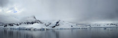 Antarctica (R. O. Flinn) Tags: ocean seascape mountains ice clouds reflections landscape antarctica glaciers