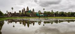 Angkor Wat (nclcocco) Tags: trees sky water clouds reflections cambodia angkorwat siemreap angkor 2010 indochina