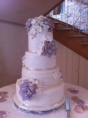 Four Tier Wedding Cake - Karen Murray