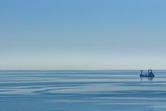 Blue landscape (Michael Babakov) Tags: blue sea nature landscape nikon blacksea d90