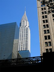 Chrysler Building, NYC (Timbo_a_go_go) Tags: nyc building metal architecture skyscraper class chrysler aluminium