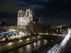 Notre Dame (max:mazz) Tags: urban panorama paris night notredame urbano notte parigi