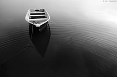 """Loneliness"" (tuan azizi) Tags: shadow sea white black reflection art nature water relax boat holding alone loneliness outdoor ripple fineart extreme tokina1224 calm lonely tranquil gettyimages kelantan malasia higlight nikond90 jubakarpantai tuanaziziphotography"