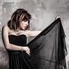 Martina Polopoli n.11 (Riccardo Mollo) Tags: black muro girl wall model dress nero ragazza collana modella vestito necklance