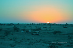 IMG_4806a (Tarun Chopra) Tags: road sunset nature desert jeep peaceful gurgaon sanddunes jaislmeer