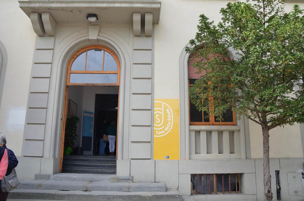 Inaugurata la casa della salute di bucine una struttura a for Disposizione della casa libera
