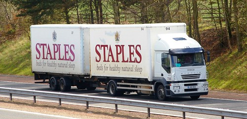 IVECO Stralis - STAPLES Beds Huntingdon Cambs.