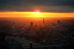 20.22.02 (foxymrcroup) Tags: city light sunset sky london high view drama shard uploaded:by=flickrmobile flickriosapp:filter=nofilter