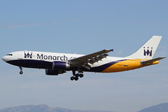 G-MAJS Airbus A300 Monarch Airlines (GSairpics) Tags: travel plane airplane islands flying airport spain aircraft aviation transport flight aeroplane airline monarch airbus mon zb om airlines mallorca palma airliner majorca balearic pmi a300 lepa gmajs gsairpics