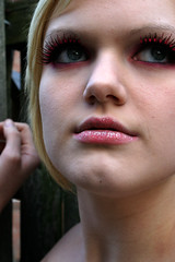 19 (RebeccaLynnPhotography8) Tags: pink portrait female photoshop makeup cannon expressive editing piercings artistry