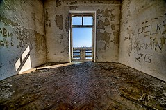 Your room, Sir! (Uros P.hotography) Tags: old sea urban history abandoned beautiful architecture photoshop wonderful graffiti amazing nikon ruins europe superb decay unique military famous croatia sigma demolition glorious stunning excellent striking barracks 1020 demolished unforgettable brilliant hdr extraordinary aweinspiring adriatic pula remarkable monumental stupendous hrvatska memorable d300 jla exceptional jna photomatix acclaimed hrvaška slod300